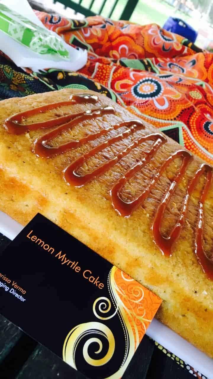 Lemon Myrtle Cake