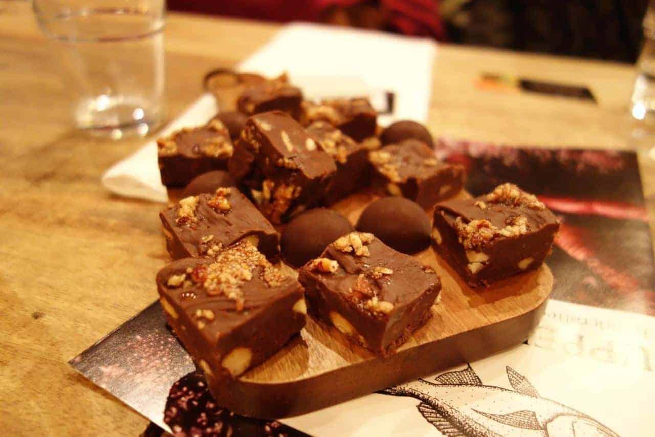 Chocolate RiverMint Truffles